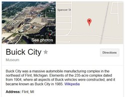Buick City Flint Michigan